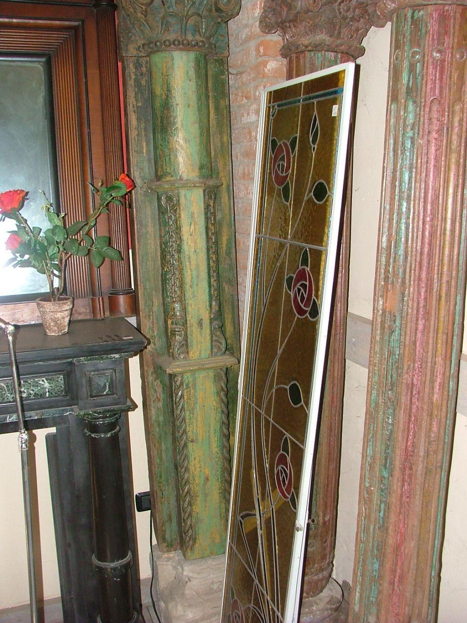 Colonne Portali - coppie colonne in legno
