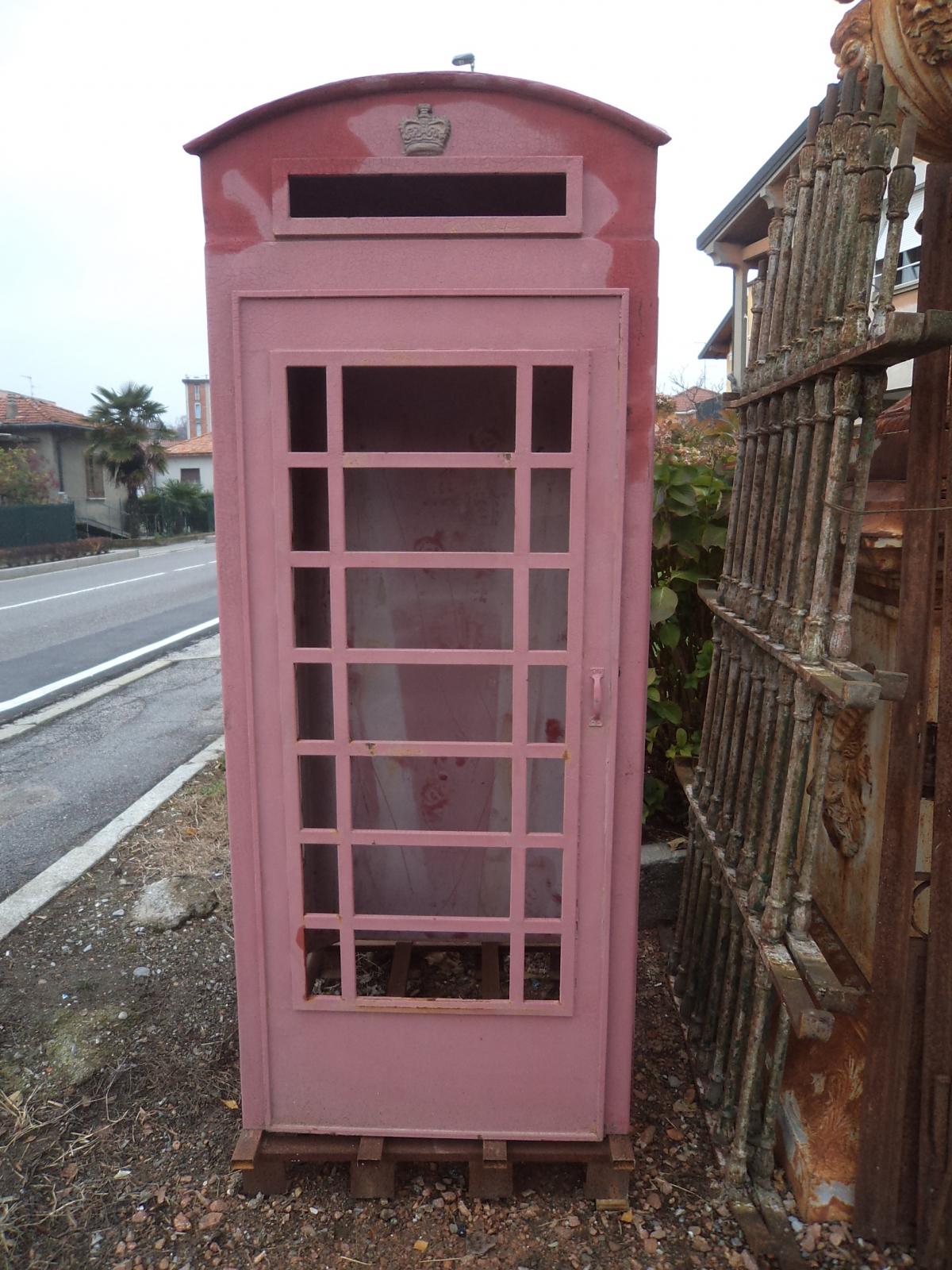 Oggettistica cabina telefonica inglese anni 60 for Cabina telefonica inglese arredamento